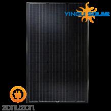 zwarte zonnepanelen van Yingli, ZONUZON
