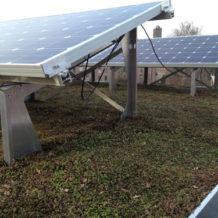 Solar sedum systeem rieken groendaken zonuzon