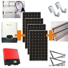 yingli mono zonnepanelen pakketten