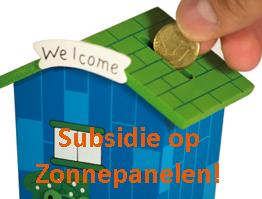 subsidie zonnepanelen 2014