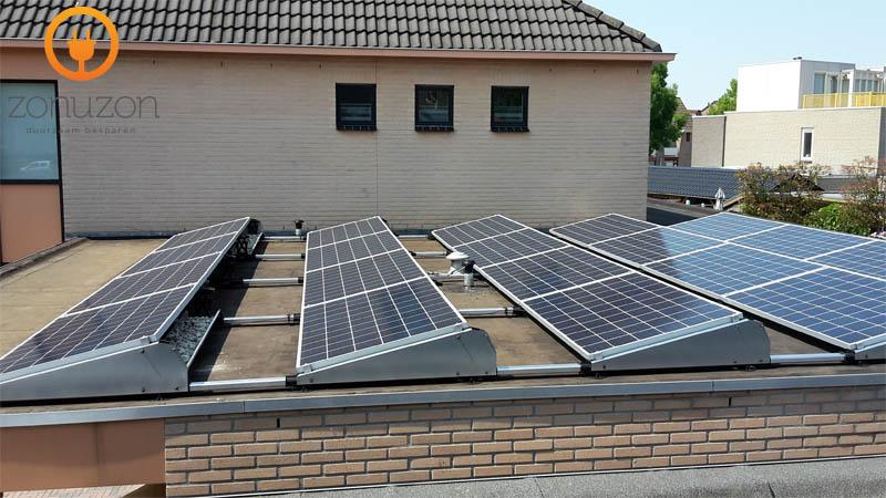 zonnepanelen nederasselt